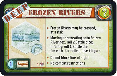 Deep Frozen Rivers